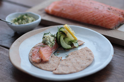 Gravadlax with citrus and spice